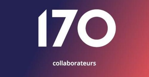 170 collaborateurs
