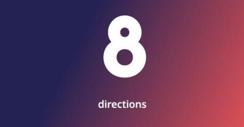 8 directions